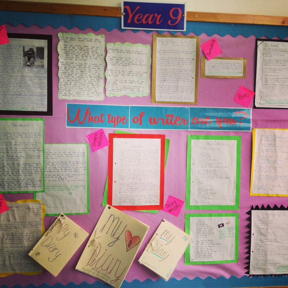 Writers' Wall